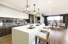 Villa Messina - Simonds Homes Furniture, Simonds Homes, House, Home, Living Spaces, Kitchen, Rural Retreats, Retreat Themes, Open Plan Living