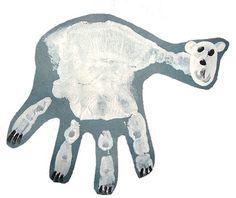 Cute, fun polar bear art!  It's hard to find polar bear art.  :0)