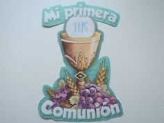 First Communion, Some Ideas, Scrapbook, Make It Yourself, Christmas Ornaments, Holiday Decor, Celebrities, Party, How To Make