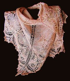 Ravelry: Minarets and Lace pattern by The Lace Eater