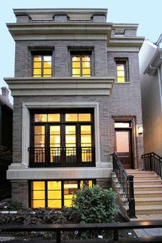 Экстерьеры | Саване Недвижимость | изысканный и элегантный дом | Чикаго | Custom элитный жилой Builder