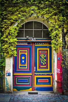 Berlin's Doors 1 by PiusKo, via Flickr