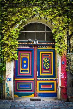 Berlin's Doors 1, via Flickr.