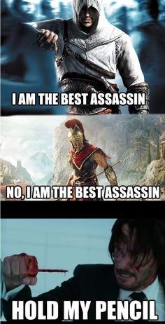 Video Games Funny, Funny Games, Gamer Humor, Star Wars Clone Wars, Assassin's Creed, Dear God, Stupid Memes, Haha, Funny Stuff