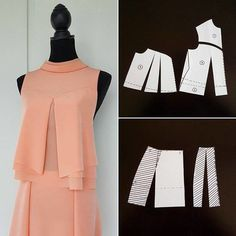 Amazing Sewing Patterns Clone Your Clothes Ideas. Enchanting Sewing Patterns Clone Your Clothes Ideas. Sewing Dress, Dress Sewing Patterns, Blouse Patterns, Sewing Patterns Free, Sewing Clothes, Clothing Patterns, Blouse Designs, Pattern Sewing, Fashion Sewing