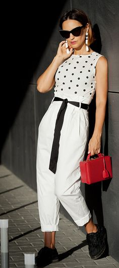 white trousers outfits