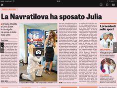 19 dicembre 2014 Navratilova sposa