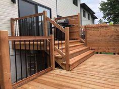 Backyard Patio Designs, Diy Patio, New Patio Ideas, Outdoor Deck Decorating, Patio Plans, Backyard Gazebo, Maxime, Home Porch, Cool Deck