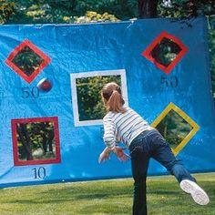 Diseño y Decoración personalizada para eventos: Juegos al aire libre