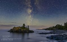 Milky Way on waxing morn  The night had given us clouds and all but spoiled our efforts to capture the galaxy.  But as the twilight began to seep into the scene the clouds fell away revealing the billions of stars and gas that make up our Milky Way.  Taken in Hollow Rock Resort in Grand Portage MN.  Camera: NIKON D3300 Lens: Tokina AT-X 116 PRO DX II 11-16mm F2.8 Focal Length: 13mm Shutter Speed: 315sec Aperture: f/2.8 ISO/Film: 200  Image credit: http://ift.tt/29pNPHS Visit…