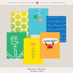 Happy Summer! Beach Shack Journal Cards... - Forum :: Oscraps.com