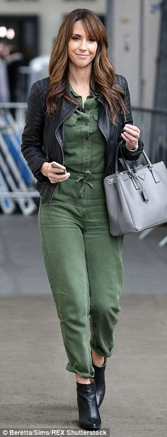 Me and Ms Jones: Alex was first spotted in the jumpsuit leaving BBC Broadcasting House ea...