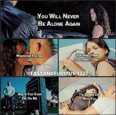 Dom and Letty furious 7 the saying from the wedding she remembers everything