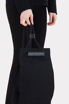 caa83f9472 Pocket Bag Medium Solid Black Medium Bags, Simple Bags, Solid Black,  Fashion Bags