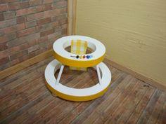 Dollhouse Miniature 1:12 Furniture & Room Items Nursery Baby Walker #CLA10386 #Handley