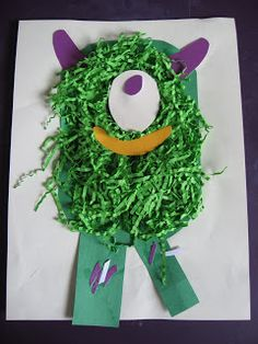 Messy Monster Craft - No Time For Flash Cards