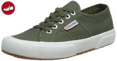 Superga 2750 Cotu S000010 2750 COTU, Unisex - Erwachsene Sneaker, Grün (Sherwood Green), 38 EU / 5 UK - Superga schuhe (*Partner-Link)
