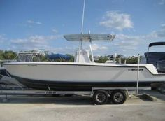 1998 25' Contender Open Fisherman with Twin Yamaha 200 HPDI. Excellent condition. Loaded incl 1998 float on aluminum dbl axle trailer, outriggers, freshwater system, salt water wash down, live well, ICOM VHF radio, Lawrence X-16 sonar-GPS, stereo/CD player, canvas cover. Trailer stored. No bottom paint. Clear title. Text Lou @ (US) +1 (786) 908-3715.