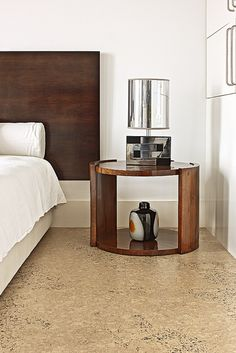 Cork Flooring: Bedroom by Real Cork Floors, via Flickr