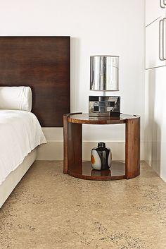 Cork Flooring: Bedroom by Real Cork Floors, via Flickr