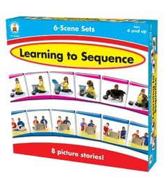 Learning to Sequence 6-Scene Board Game - Carson Dellosa Publishing Education Supplies