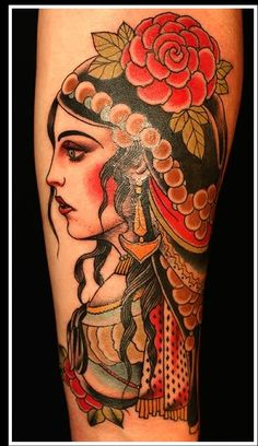 Traditional Tattoos:  this is gorgeous