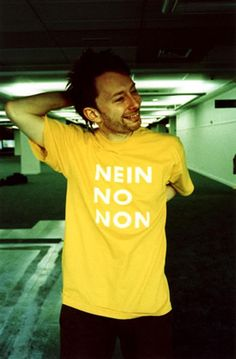 Thom Yorke – Nein No Non T-shirt http://tshirtsonfilm.com/2014/12/thom-yorke-nein-no-non-t-shirt/ #ThomYorke