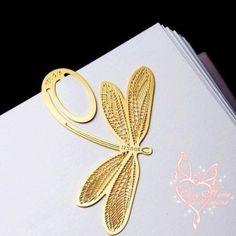 Metal Dragonfly Bookmark......ooooo I want one