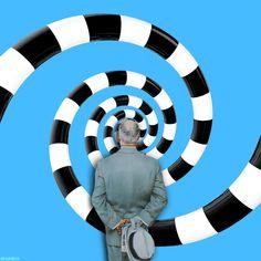 Un tableau de Norman Rockwell en animations psychédéliques