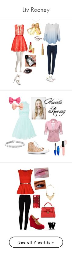 """""""Liv Rooney"""" by lingevanesa ❤ liked on Polyvore featuring dresses, vestidos, red dress, textured dress, red skater dress, skater dress, burnt orange dress, short dresses, robes and mint"""