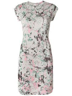 M MISSONI Printed Cap Sleeve Mini Dress. #mmissoni #cloth #dress