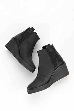 Sixtyseven Wedge Platform Ankle Boot