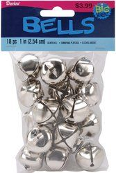 Jingle Bells 1-Inch, 18-Pack, Silver  Order at http://www.amazon.com/Jingle-Bells-1-Inch-18-Pack-Silver/dp/B002PIEAH4/ref=zg_bs_11970241_83?tag=bestmacros-20