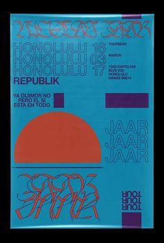 Nicolas Jaar poster Graphic Design Posters, Graphic Design Inspiration, Typography Design, Graphic Art, Nicolas Jaar, David Rudnick, Layout Design, Print Design, Plakat Design