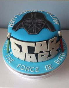 Looking for cake decorating project inspiration? Check out star wars cake by member Kelly Murphy.
