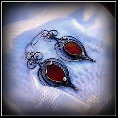 Carneol earring / SOLD /