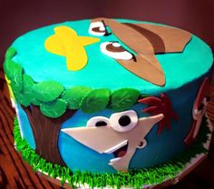 Phineas and Ferb Cake