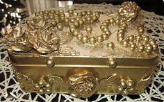 Studený porcelán - recept na hmotu + nápady na modelovanie - Modelárstvo - Majstrovanie | Hobby portál Decorative Boxes, Boxes, Craft, Decorated Boxes, Decorative Storage Boxes