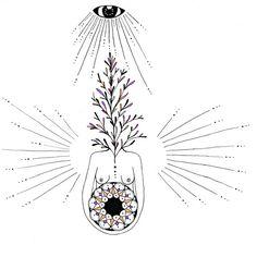 Womb of Rebirth / MerakiLabbe / Sacred Geometry <3