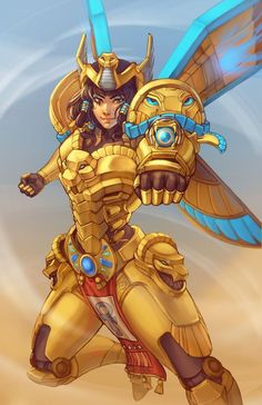 A collection of tattoos and fan art inspired by Pharah from the game Overwatch. Overwatch Tattoo, Overwatch Pharah, Overwatch Drawings, Widowmaker, Paladin, Fantasy Characters, Female Characters, League Of Legends, Smile Drawing