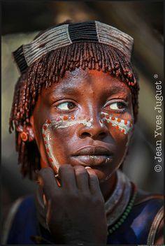 Hamar Tribe . Omo Valley . Ethiopia