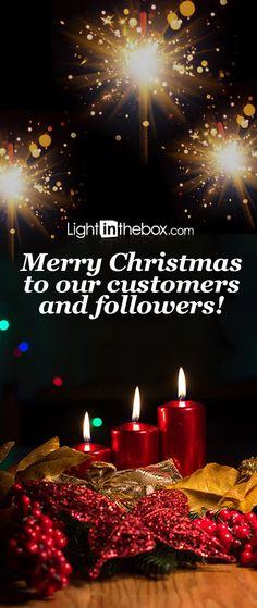 From all of us at LightInTheBox, wishing you a joyous holiday and a prosperous New Year.