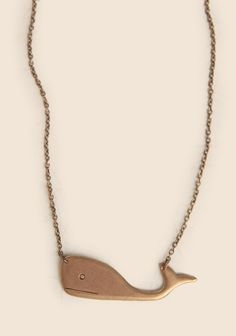 Wally The Whale Indie Necklace