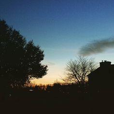 Evening sky with Venus #sky #sunset #venus