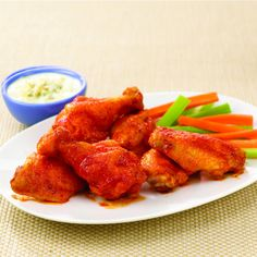 Make tonight wing night at your place with this traditional combination of tangy, sweet and spicy seasonings.