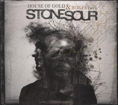 album cover art: stone sour - house of gold & bones part 1 [2012]