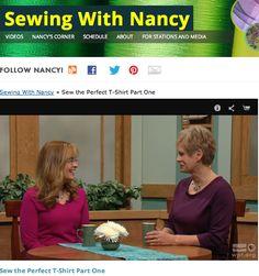 Nancy Zieman/Sewing With Nancy/Sew the Perfect T-Shirt   Nancy Zieman Blog