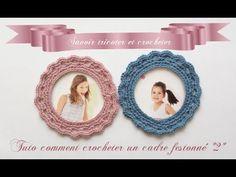 How to Crochet a Frame Crochet Diy, Wire Crochet, Crochet Ideas, Shabby, Irish Lace, Deco, Crochet Earrings, Diy Projects, Elsa