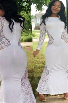 4fc14bd0c60e Sexy white plus size dress - https   letsplus.eu mini-