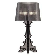 ZUO Salon L 28.3 in. Table Lamp Translucent Black-50041 at The Home Depot